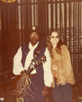 Bo Diddley With Sandy Waine Van Scyoc (deceased)