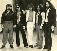 Elephants Memory Backstage At The Garden 1972