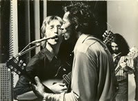 John Lennon Chuck Berry And Gary Van Scyoc