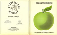 Promo From Apple Records 1972